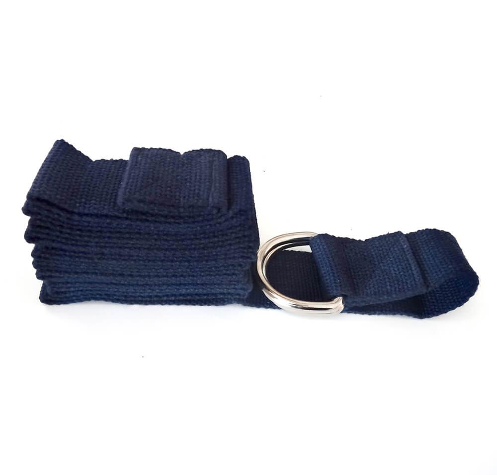 Cinturón para yoga de algodón