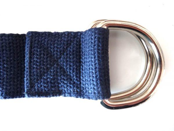 cinturon azulpara yoga