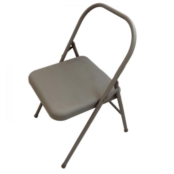 Silla Plegable para Yoga beige (Yoga Chair) Iyengar