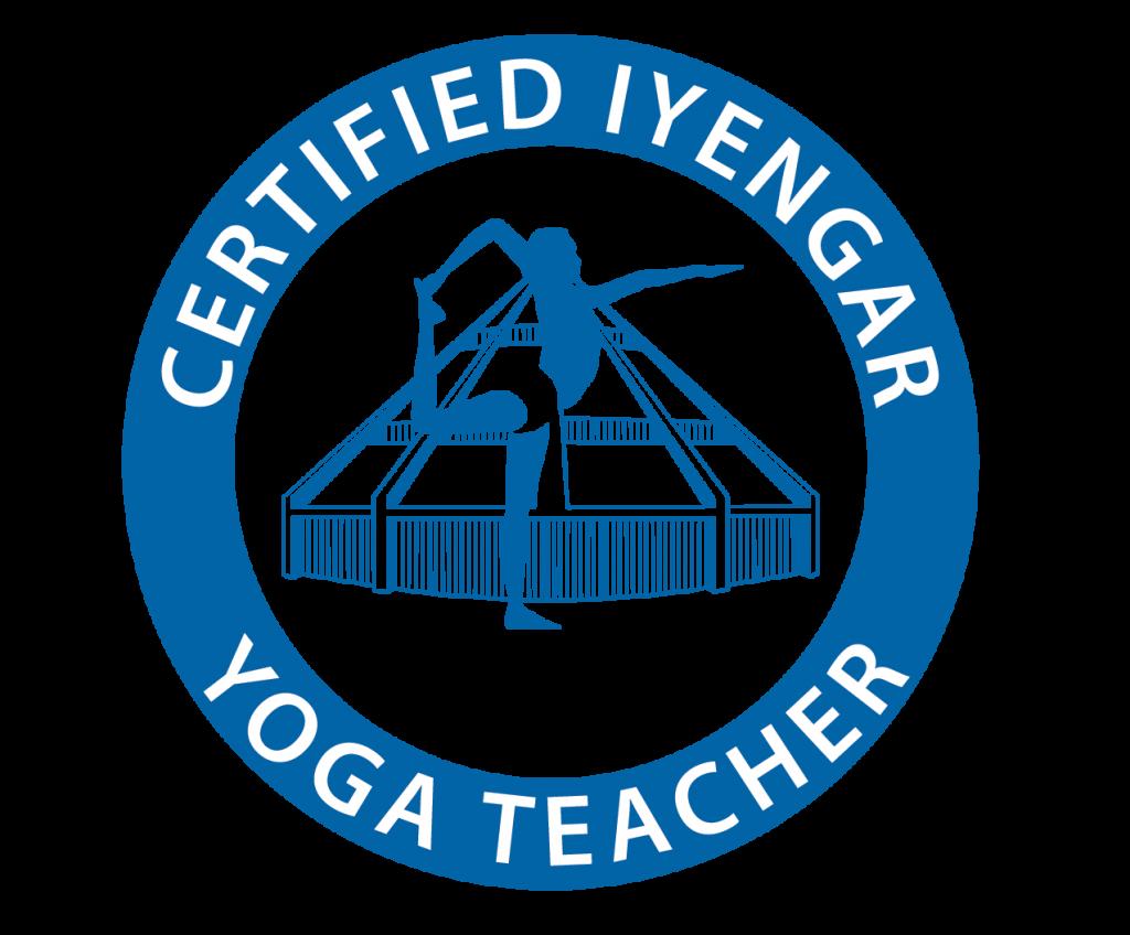 Logotipo Maestro Certificado en Yoga Iyengar